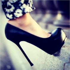Shoes Licious / Black stilletos |Black Heels|