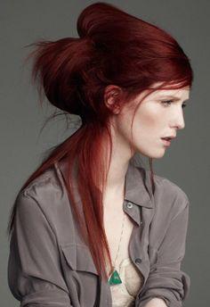 Big Hairstyles for Long Hair | ... hair/photos/beautiful-hairstyles-for-long-hair/pouf-ponytail-hairstyle