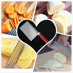 1-X-Potato-Wavy-Edged-Knife-Stainless-Steel-Vegetable-Fruit-Cutting-Cooking-Tool