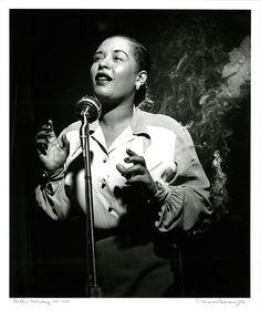 Billie Holiday, New York, 1949