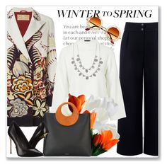 """""""Winter to Spring Layers"""" by andrejae ❤ liked on Polyvore featuring Être Cécile, Etro, Topshop, Michael Kors, Rachel Zoe, Givenchy and Wintertospring"""