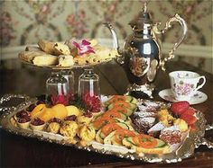 Tea Time at Manor on Golden Pond in New Hampshire