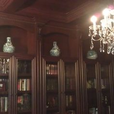 Library Reading Rooms with Coffer Ceilings