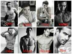 Rock Chick Series by Kristen Ashey casting made by Amie at Red Cheeks Reads Rock Chick Series, Kristen Ashley Books, Book Characters, Fictional Characters, Book Authors, Romance Novels, Pretty Boys, Book Worms, Books To Read
