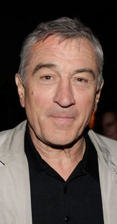 Robert De Niro, Actor: Goodfellas. Robert De Niro, thought of as one of the greatest American actors of all time, was born in New York City, to artists Virginia (Admiral) and Robert De Niro Sr. His paternal grandfather was of Italian descent, and his other ancestry is Irish, Dutch, English, French, and German. He was trained at the Stella Adler Conservatory and the American Workshop. He first gained fame for his role in Bang the ...
