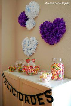 Mi casa por el tejado: Decoración de una mesa de dulces con Handy Bag