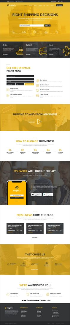 Xlava is clean and modern design 4in1 responsive html template for freightco is a clean and modern design 5in1 responsive wordpress theme for logistics accmission Images