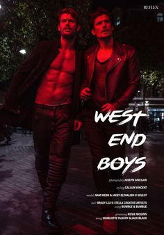 Sam Webb + Jacey Elthalion are West End Boys for Reflex Homme