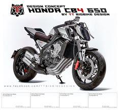TT BIGBIKE DESIGN: HONDA CB4 650 DESIGN CONCEPT EDIT BY TTBIGBIKEDESI...