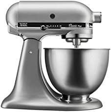 Find KitchenAid Classic Plus Tilt-Head Stand Mixer, Silver online. Shop the latest collection of KitchenAid Classic Plus Tilt-Head Stand Mixer, Silver from the popular stores - all in one Kitchenaid Classic Stand Mixer, Kitchenaid Standmixer, Cafetiere Expresso, Kitchen Countertops, Kitchen Appliances, Small Appliances, Kitchens, Kitchen Backsplash, Robot Thermomix