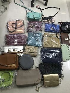 Wallets excluded now and so are the brown purses