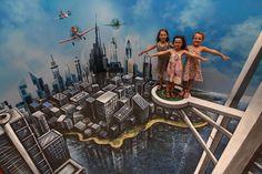 Arte de Rua 3D - 3D Joe  and Max