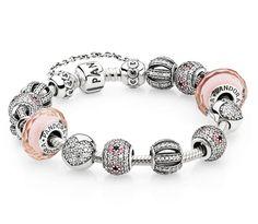 Pretty in pink #PANDORAbracelet style inspiration