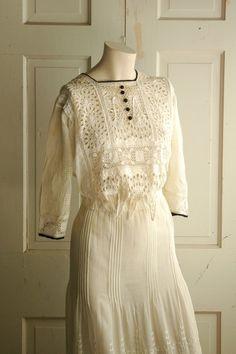 Vintage Edwardian Dress