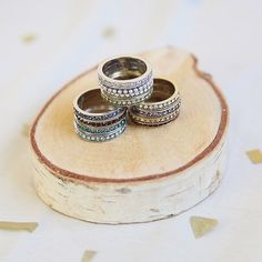 Stackable Birthstone rings!  https://www.chloeandisabel.com/boutique/annipounds