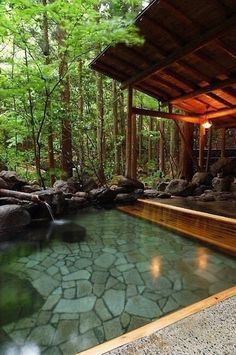 Beautiful Swimming Pool Garden Design Ideas Landscape design a . - Beautiful Swimming Pool Garden Design Ideas Landscape design a pool area is a diff - Natural Home Decor, Easy Home Decor, Natural Homes, Outdoor Spaces, Outdoor Living, Indoor Outdoor, Outdoor Bedroom, Outdoor Pool, Dream Pools