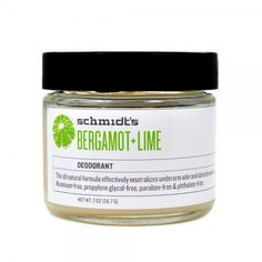 Bergamot Lime Deodorant