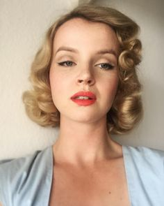 """3,249 Likes, 84 Comments - Noortje Laan (@noortjelaan) on Instagram: """"Marilyn inspired makeup 💕"""""""