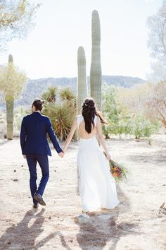 Bohemian Real Wedding in Joshua Tree
