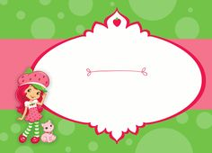 free strawberry shortcake birthday party printable invitation, banner, favor tags, cupcake toppers and water bottle labels!