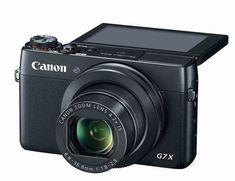 Canon PowerShot X Optical Zoom Compact Digital camera Best Canon Camera, Best Vlogging Camera, Vlog Camera, Camera Tips, Best Camera For Blogging, Canon Kamera, Dslr Nikon, Dslr Lenses, Shopping