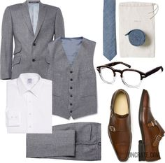Garb: 3-Piece Dinner via Uncrate