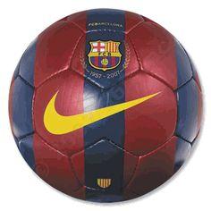 Barcelona Nike soccer ball.