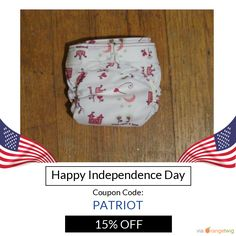 We are happy to announce 15% OFF on our Entire Store. Coupon Code: PATRIOT.  Min Purchase: $15.00.  Expiry: 29-Jun-2016.  Click here to avail coupon: https://www.etsy.com/shop/FruitoftheWombDipes?utm_source=Pinterest&utm_medium=Orangetwig_Marketing&utm_campaign=Coupon%20Code   #etsy #etsyseller #etsyshop #etsylove #etsyfinds #etsygifts #musthave #loveit #instacool #shop #shopping #onlineshopping #instashop #instagood #instafollow #photooftheday #picoftheday #love #OTstores #smallbiz #sale…