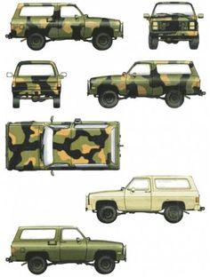 M1009 Blazer for Sale | ... .com - Blueprints > Cars > Chevrolet > Chevrolet Blazer M1009 CUCV