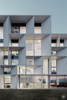 deep facade - building in Ravenna, Italy by Piuarch Architects Architecture Design, Contemporary Architecture, Amazing Architecture, Architecture Portfolio, Montreal Architecture, Business Architecture, Computer Architecture, Installation Architecture, Building Architecture
