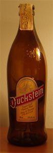 Holsten Brauerei (Duckstein GmbH)(Feldschlöss Brauerei) - Duckstein Rotblondes Oberbräu 5,0%=pullo 4,8%=hana