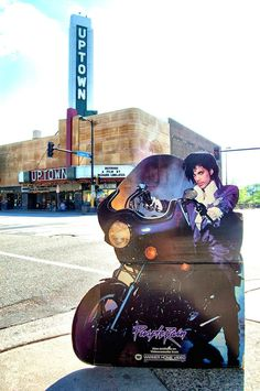 PURPLE RAIN-ERA CARDBOARD PRINCE SEES THE MINNEAPOLIS SIGHTS. June 25th is a special day, 31 years ago today Purple Rain was released!......  [March 2016]   Also, Go to RMR 4 BREAKING NEWS !!! ...  RMR4 INTERNATIONAL.INFO  ... Register for our BREAKING NEWS Webinar Broadcast at:  www.rmr4international.info/500_tasty_diabetic_recipes.htm    ... Don't miss it!