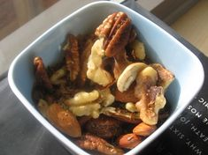 Rosemary Spiced Nuts - These are SOOOO good.