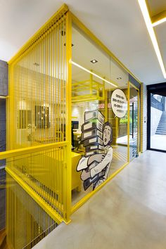 Emre Group Offices Come to Life Courtesy of Renda Helin Design & Interiors - Design Milk Office Space Design, Office Interior Design, Office Interiors, Design Interiors, Office Designs, Interior Garden, Cool Office, Small Office, Office Decor