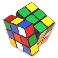 Rubik's cube. I could never figure this thing out.