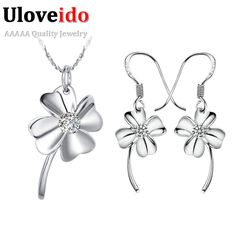 Find More Jewelry Sets Information about New 2016 Girls Jewelry Sets Kids Jewelry Sets Silver 925 Bridesmaid Jewelry Sets White Zircon Gift for Women Girl Ulove T014 1,High Quality gift product,China gift block Suppliers, Cheap gift retail from Uloveido Official Store on Aliexpress.com