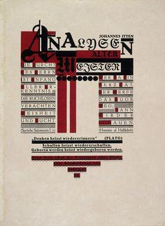 Johannes Itten, Analysen Alter Meister, Blatt 1-2 (aus: Utopia: Dokumente der Wirklichkeit), 1921 / Bauhaus-Archiv Berlin, VG Bild-Kunst Bonn