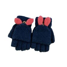 NEW Twin Pack Toddler Baby Boy Girl Mittens x2 Winter Warm Gloves Stripe Thermal