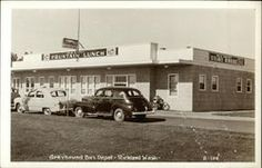 Greyhound Bus Depot, Tri-Cities, WA