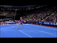 Nastia Liukin - Floor Exercise - 2008 Visa Championships - Day 2