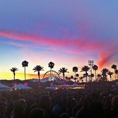 One thing I wanna do before I die is go to Coachella, a huge live music festival. Lots of cool bands and artists go and it seems like such an awesome environment.