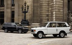 Range Rover Classic and New