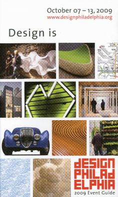 2009 DesignPhiladelphia Guide Cover