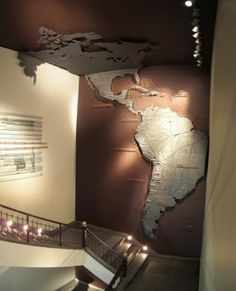 Wall map. Awesome