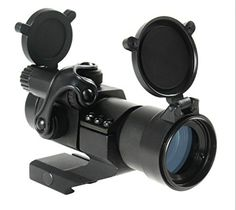 NIUDB Tactical Holographic 1x32mm Red Green Dot Scope Sight 21mm Weaver Picatinny Rail ** Want additional info? Click on the image.