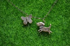 Beauty gift puppy jewelry Necklace jewelry set earrings
