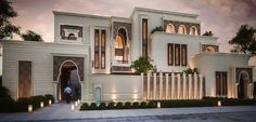 Islamic Private Villa on Behance