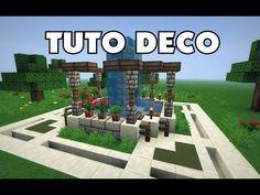TUTO 3 FONTAINES MODERNES MINECRAFT !! - YouTube | Minecraft ...
