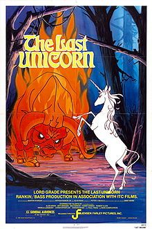 The Last Unicorn - a recent discovery, sadly I missed this in my childhood.