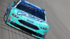 #MOTORSPORTS  #MOTORS  #NASCAR    BROOKLYN, MI - AUGUST 26:  Ricky Stenhouse Jr, driver of the #17 Zest Ford, drives during practice for the NASCAR Sprint Cup Series Pure Michigan 400 at Michigan International Speedway on August 26, 2016 in Brooklyn, Michigan.  (Photo by Jerry Markland/Getty Images)